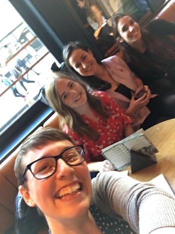 Charlotte, Hannah, Irene, Elisa